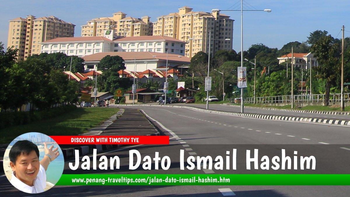 Jalan Dato Ismail Hashim, in Sungai Ara