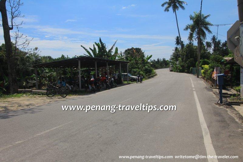 Jalan Kuala Jalan Baru, Balik Pulau