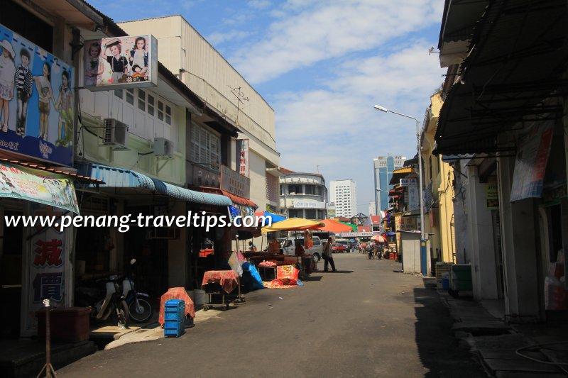 Jalan Kuala Kangsar behind Chowrasta Market