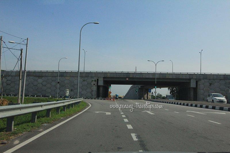 Jalan Maju flyover