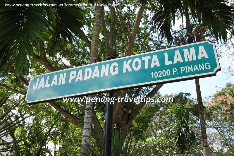 Esplanade Road Jalan Padang Kota Lama George Town Penang