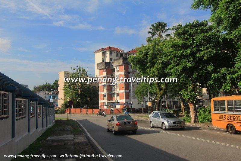 Jalan Padang Tembak (Rifle Range Road), Air Itam, Penang