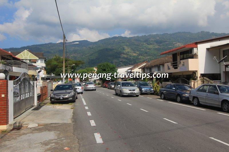 Jalan Pisang Embun, Kampung Melayu, Air Itam