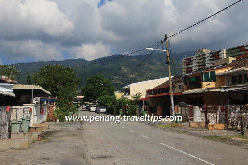 Jalan Pisang Nangka, Kampung Melayu