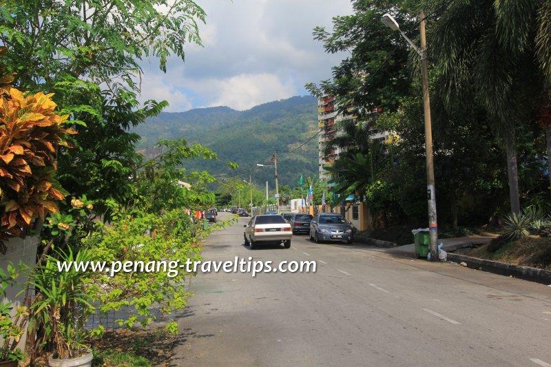 Jalan Pisang Raja, Kampung Melayu