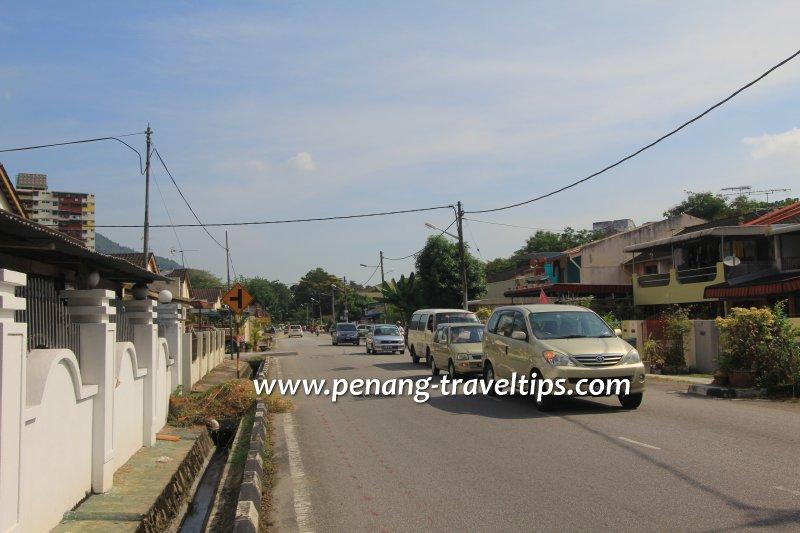Jalan Pisang Rastali, Kampung Melayu