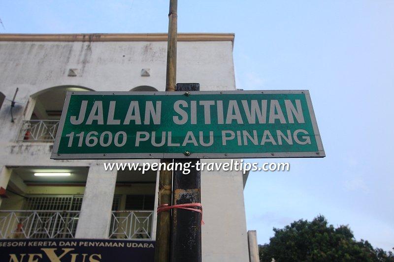 Jalan Sitiawan