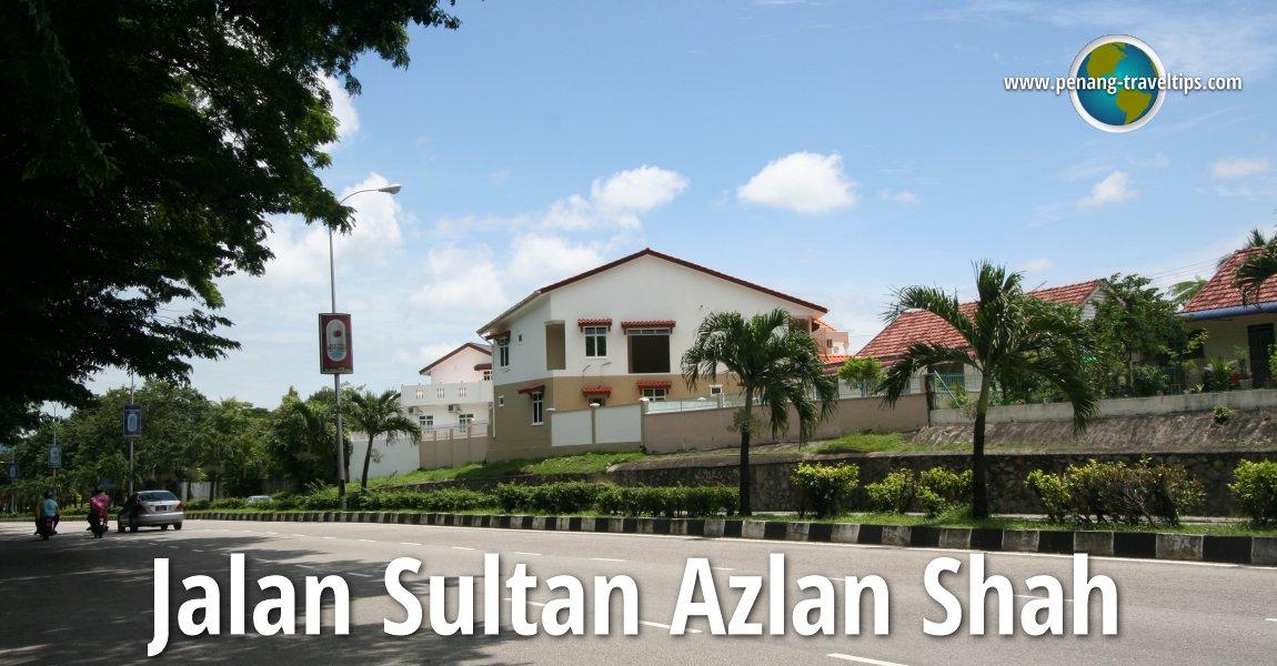 Jalan Sultan Azlan Shah, Gelugor