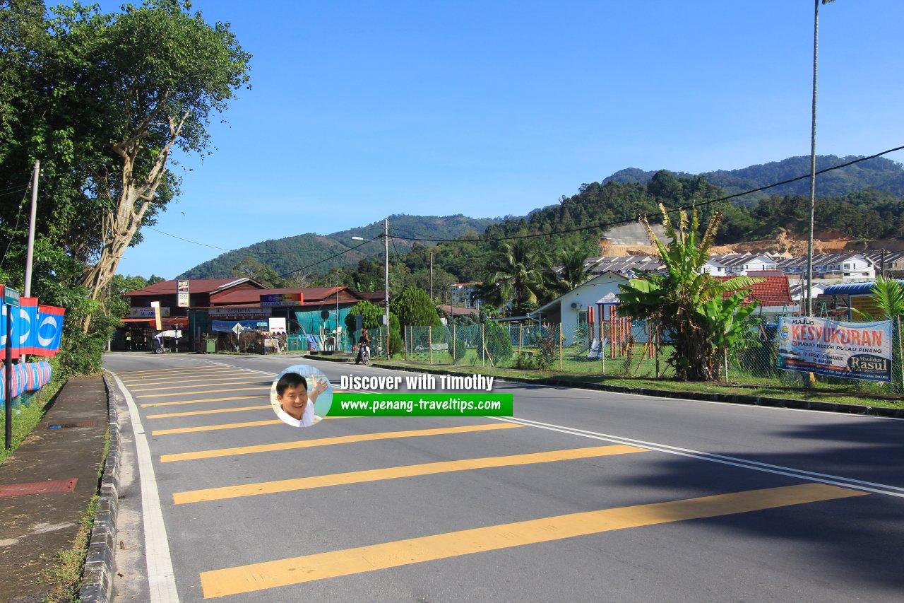 Jalan Sungai Pinang at Titi Teras