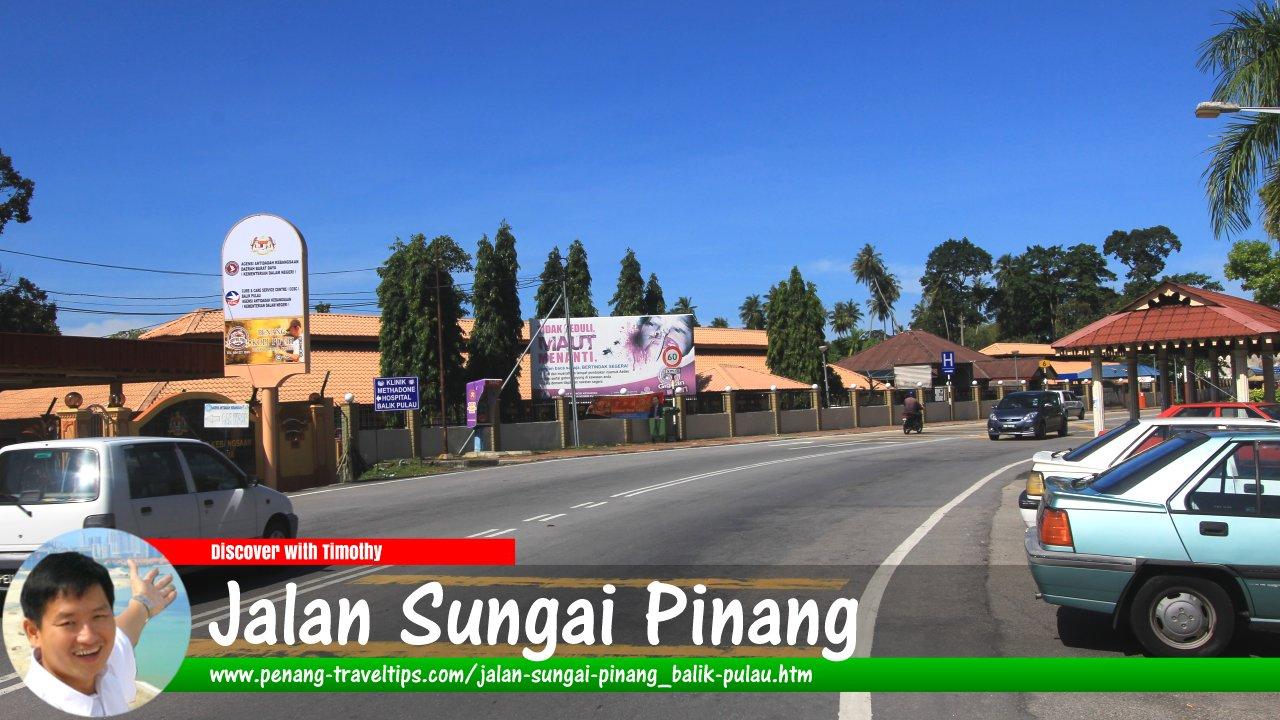 Jalan Sungai Pinang, Balik Pulau