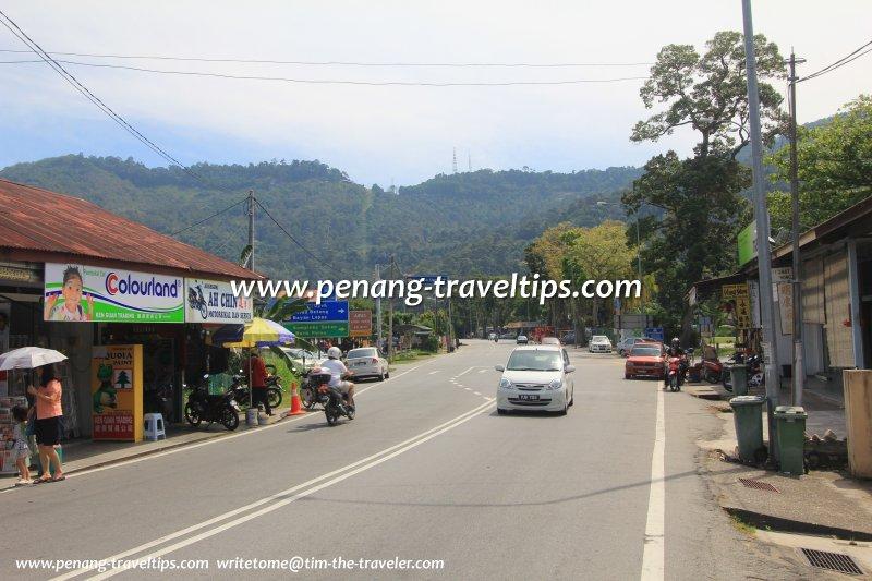 Jalan Tun Sardon in Balik Pulau