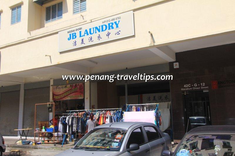 JB Laundry, Macallum Street Ghaut