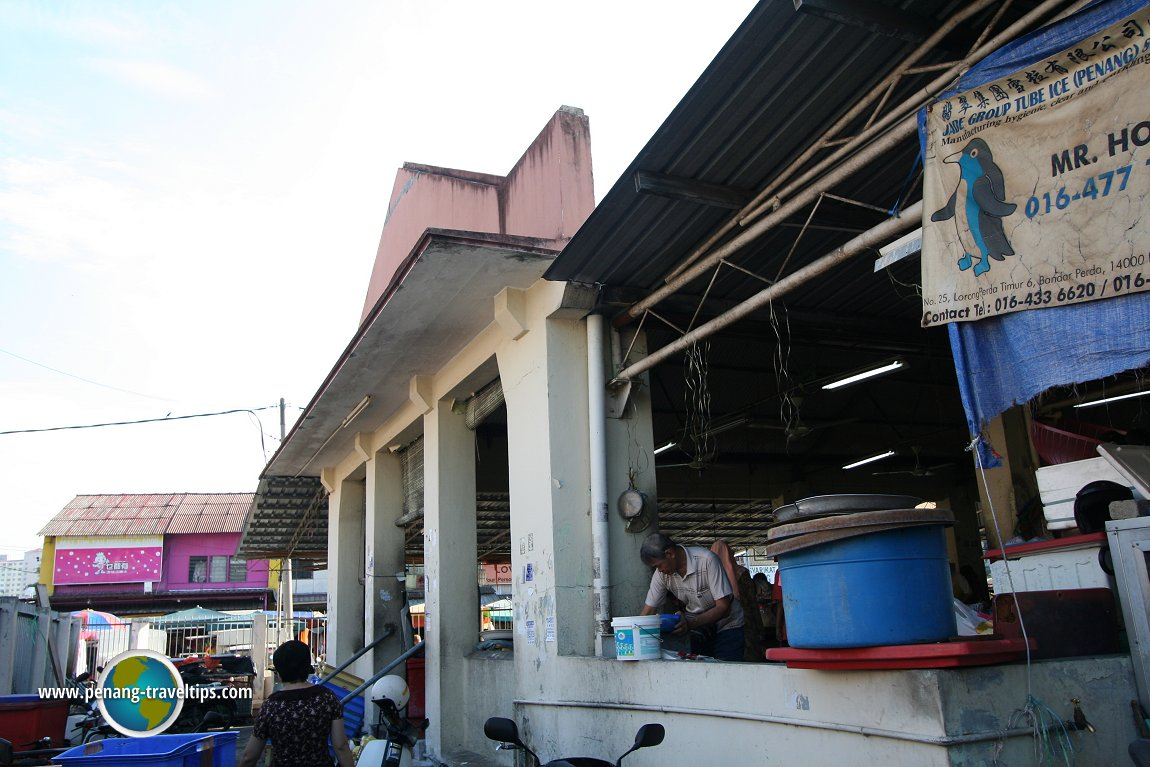 Jelutong Market, before the restoration