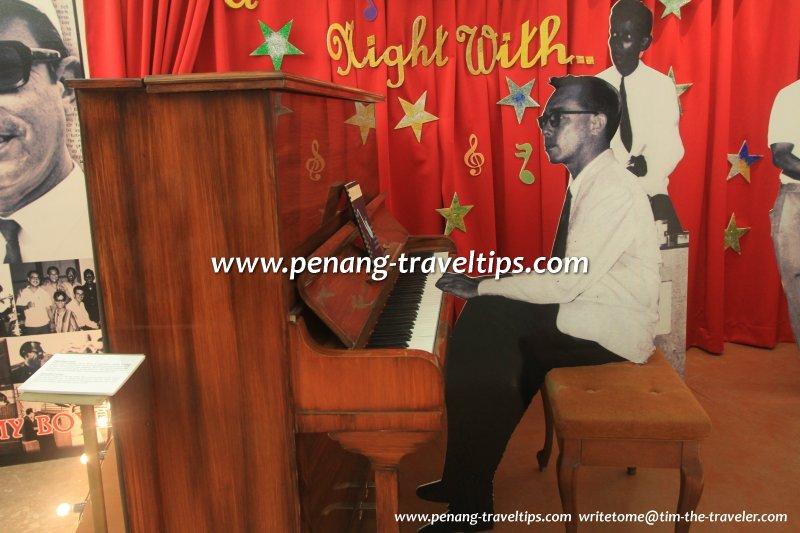 Jimmy Boyle piano