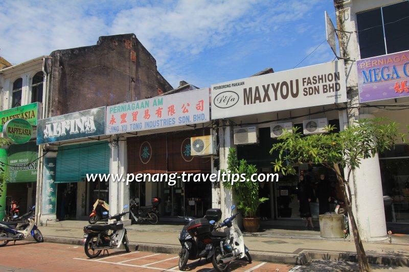 Jing Yu Tong Industries Sdn Bhd, Penang