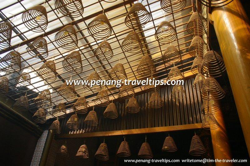 Joss coils at Kuan Yin See