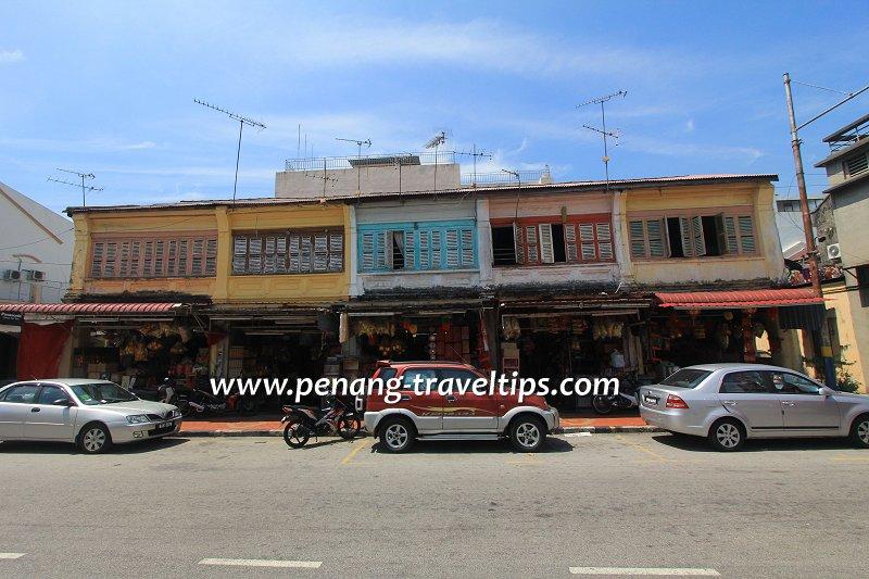 Joss Stick Row, Carnarvon Street, George Town, Penang