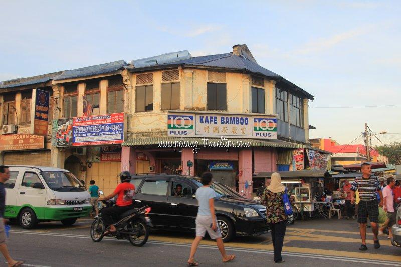 Kafe Bamboo, Jelutong