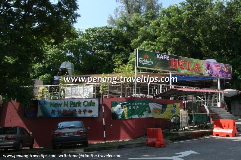 Kafe Hola (New N Park Cafe), Batu Uban, Penang