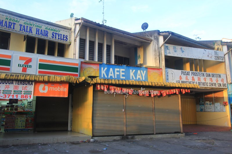 Kafe Kay, Penang