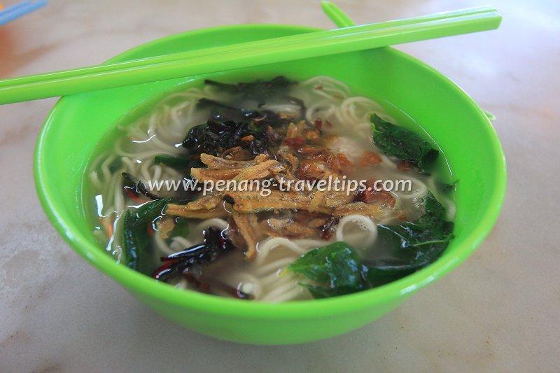 Sabah pan mee, Mandarin Cafe