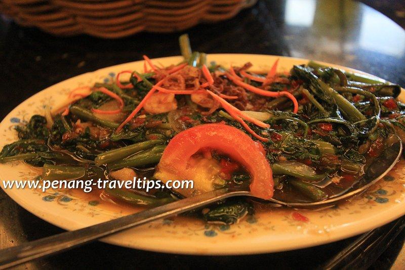 Kangkong belacan, Restoran Pen Mutiara