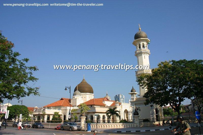 View of Kapitan Keling Mosque from Pitt Street
