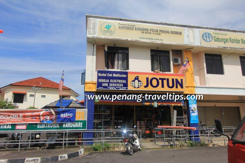 Kedai Cat Multicolor, Balik Pulau