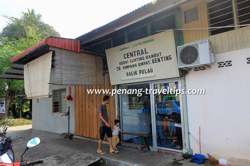 Kedai Gunting Rambut Central