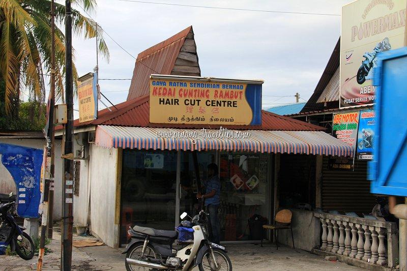 Kedai Gunting Rambut Gaya Ratna, Bayan Lepas