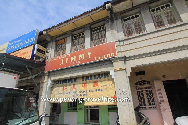 Kedai Jahit Jimmy Tailor, Balik Pulau