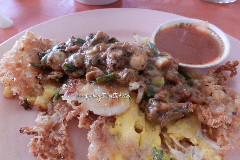 Kedai Kopi Lam Ah fried oyster