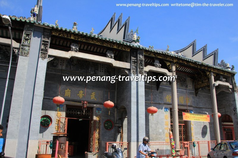 King Street's Cantonese-style temples