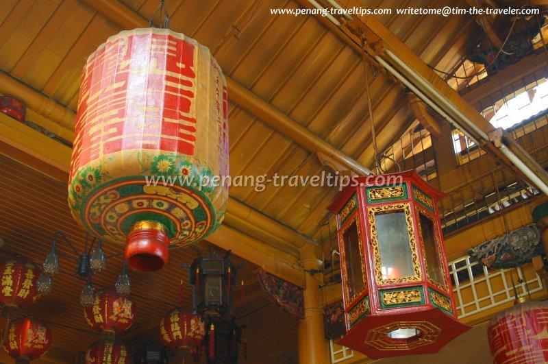 Kuan Yin See, lanterns