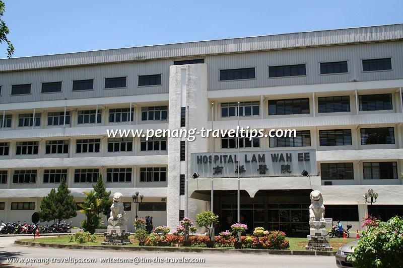 Lam Wah Ee Hospital Penang Pulau Pinang