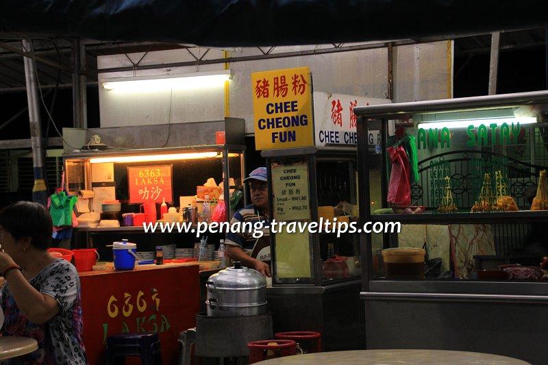 Laksa, chee cheong fun and satay at Lebuhraya Jelutong Hawker Centre