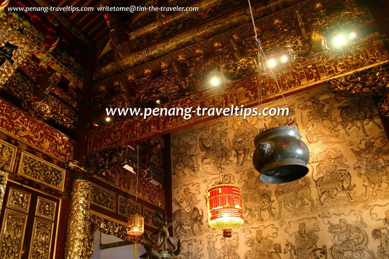 Interior of Leong San Tong Khoo Kongsi