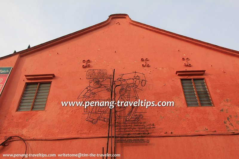 Limousine Sculpture, Carnarvon Lane, George Town, Penang