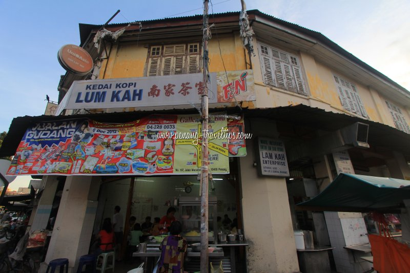 Kedai Kopi Lum Kah, Jelutong