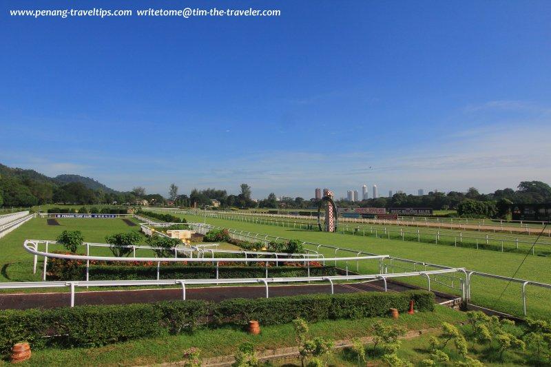 The racecourse, Penang Turf Club
