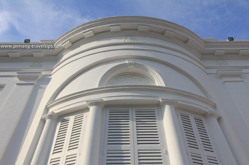 Rear façade, St George's Anglican Church