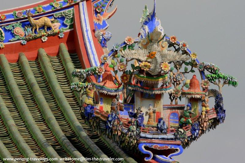 Roof ornamentation, Ong Kongsi