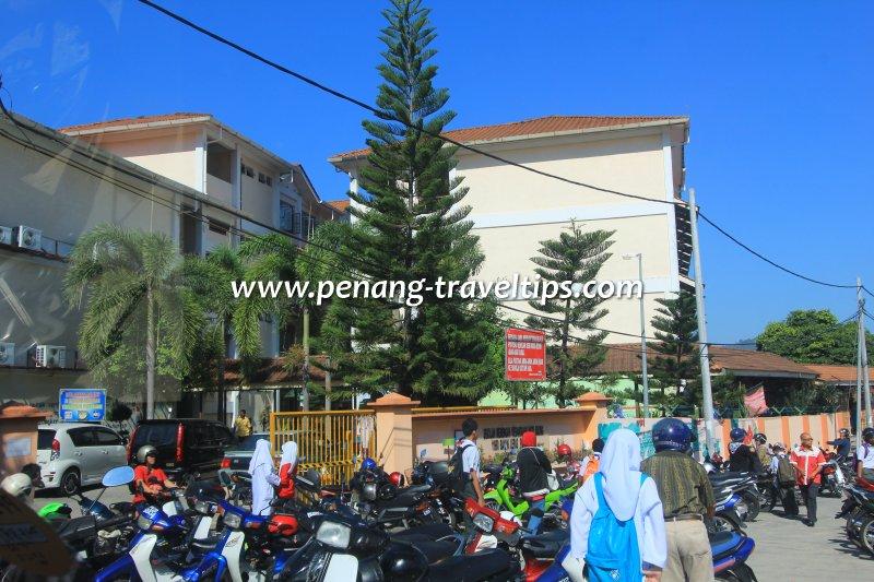 Sekolah Menengah Kebangsaan Batu Maung