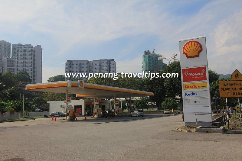 Shell petrol station, Thean Teik Road