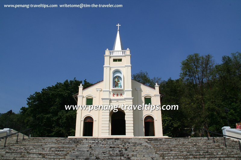 The Shrine of St Anne, popularly called the Old Church