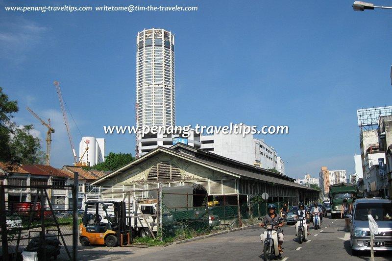 View of Sia Boey along Prangin Road (Jalan Dr Lim Chwee Leong)
