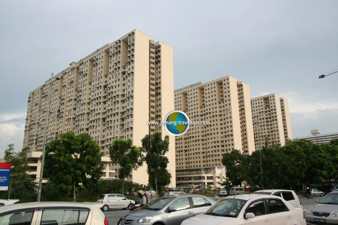 Another view of the Sri Saujana Apartment