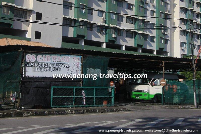 SS Car Wash, Jalan Aziz Ibrahim