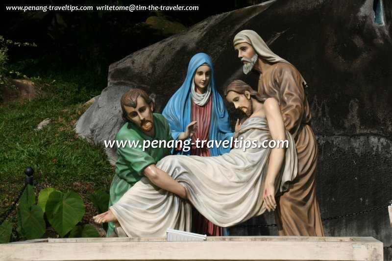 Stations of the Cross: Station 14, Jesus laid in a tomb