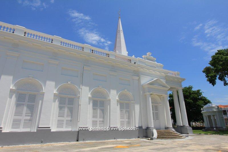 Side façade of St George's Church